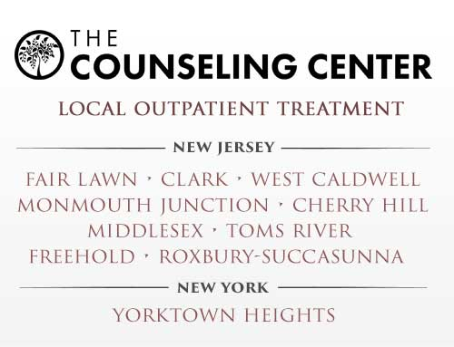The Counseling Center : Outpatient Addiction Disorder Treatment in Local New Jersey and New York Communities